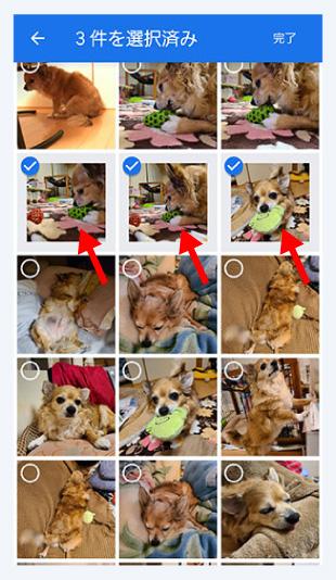 <br> 7.読み込みたい画像にチェックを入れてください。※一度に追加できるのは100コマまで<br><br>